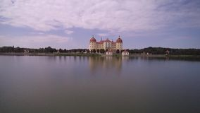 宫殿和公园在皮尔尼茨 影视素材