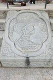 宫殿和石头 免版税库存图片