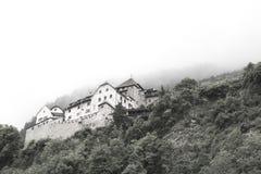 宫殿在列支敦士登 库存照片