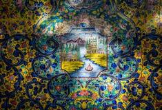 宫殿在德黑兰 库存图片