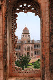 宫殿在查谟(印度) 免版税库存照片