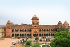 宫殿在查谟(印度) 免版税图库摄影