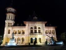 宫殿在Buzau 免版税库存照片