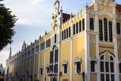 宫殿在Casco Viejo,巴拿马城 免版税库存图片