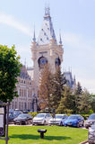 宫殿在Iasi 免版税库存照片