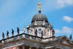 宫殿在Sanssouci公园 免版税库存图片