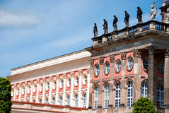 宫殿在Sanssouci公园 图库摄影