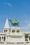 宫殿小山在布达佩斯,匈牙利 图库摄影