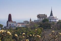 宫殿小山,泰国 库存照片