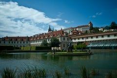 宫殿布拉格wallenstein 免版税库存图片