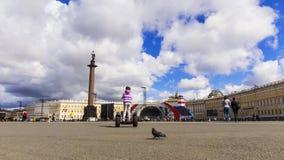 宫殿彼得斯堡方形st 库存照片