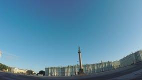 宫殿彼得斯堡方形st 股票视频