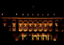 宫殿总统华沙 库存照片