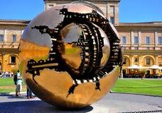 宫殿梵蒂冈 库存照片