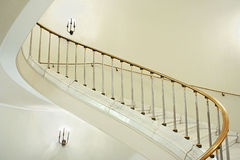 宫殿楼梯间 免版税库存图片