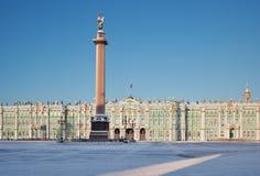 宫殿正方形 免版税库存照片