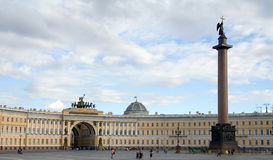 宫殿正方形 免版税库存图片