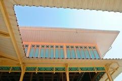 宫殿泰国木 库存图片