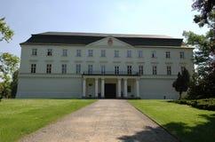 宫殿白色 库存照片