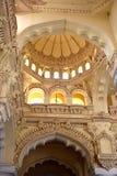 宫殿的内部的看法 库存照片