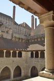 宫殿的庭院 库存照片