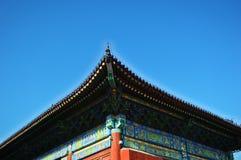 宫殿的房檐 图库摄影