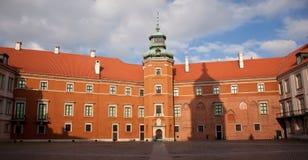 宫殿皇家华沙 免版税库存照片