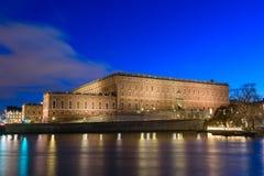 宫殿皇家斯德哥尔摩 库存图片
