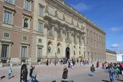 宫殿皇家斯德哥尔摩 免版税图库摄影