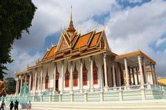 宫殿皇家penh的phnom 免版税图库摄影