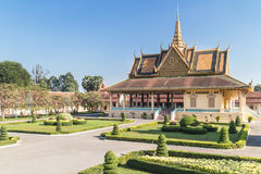 宫殿皇家penh的phnom 库存照片