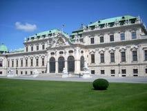 宫殿维也纳 免版税库存图片