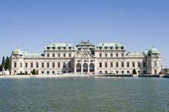 宫殿维也纳 库存照片