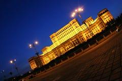 宫殿议会 免版税库存图片