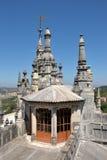宫殿金塔da Regaleira,辛特拉,葡萄牙 库存照片