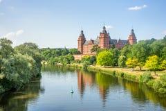 宫殿阿沙芬堡 免版税库存照片