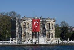 宫殿,伊斯坦布尔,土耳其 免版税库存照片