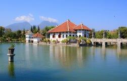 水宫殿 巴厘岛印度尼西亚 库存图片