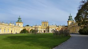 宫殿 免版税库存照片