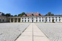 宫殿Bialystok 波兰 免版税库存照片