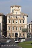 宫殿Bonaparte,修造在罗马 库存照片