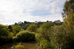 宫殿Dornburg 免版税库存图片