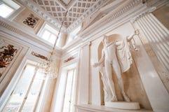 宫殿Lazienki 库存照片