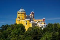 宫殿pena葡萄牙sintra 库存图片