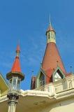 宫殿Phayathai的圆顶 免版税库存照片