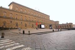 宫殿pitti 库存照片