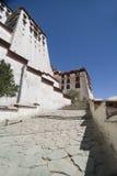 宫殿potola西藏 免版税库存照片