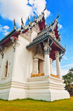 宫殿prasat泰国sanphet的寺庙 库存图片