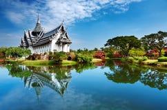 宫殿prasat sanphet泰国 库存图片