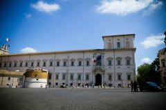 宫殿quirinal罗马 免版税库存图片